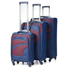 Aerolite Super Lightweight 4 Wheel Spinner Luggage Suitcase Travel Trolley Case