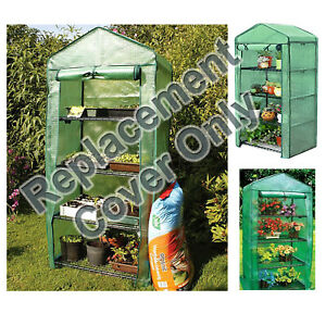 Parkland 4 Tier Greenhouse Replacement Spare PE Cover Grow Plants Garden & Lawn