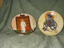 Norman Rockwell Limited Edition Collectors Plates