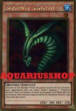 Yu-Gi-Oh Serpente Sinistro PGL2-IT027 Ultra Gold ITA Sinister Serpent Nuovo