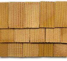"Dollhouse Roofing Hand Split Cedar Square Shingles 300 Pcs 1"" Scale #CLA70256"