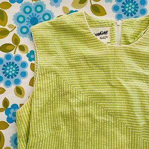 ALLEN Gar All Cotton 50's 60's Sundress PHOTO SHOOT Vintage