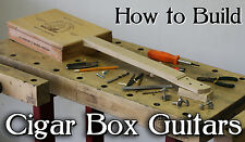 Build Cigar Box Guitars DVD lessons for your own vintage neck amp parts and kit