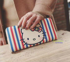 Cute Hello Kitty Girl Women Purse Clutch Wallet Card Holder Invoice Case Gifts