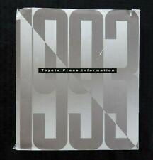 1993 TOYOTA LANDCRUISER 4RUNNER CELICA PICKUP TRUCK Press Kit 35mm SLIDES PHOTOS