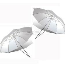 "2 x 33"" Photography Video Studio Flash Lighting Soft Translucent White Umbrella"