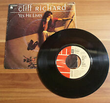 "Single 7"" Cliff Richard - Yes He Lives TOP!"