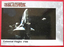 BATTLESTAR GALACTICA - Premiere Edition - Card #28 - Colonial Flight 798