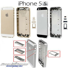 Tapa Trasera Chasis Bateria Para iPhone 5S Dorado Negro Blanco Rosa Herramientas