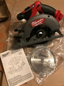 """BRAND NEW - Milwaukee 2730-20 M18 FUEL 6-1/2"""" Circular Saw (Tool Only)"""