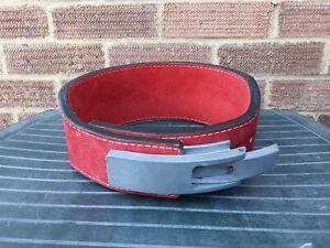 """Inzer Forever Bodybuilding Tapered Lever Belt 4"""" 10mm  S 26-29"""""""