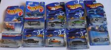 Lot of 10 Hot Wheels Cars First Edition 1996, 2000 - 2005 Cougar Nova Shelby+