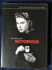 Notorious Region 1 DVD Criterion Collection Alfred Hitchcock Cary Grant Bergman