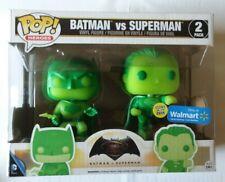 Funko Pop Batman Vs Superman 2 Pack Glow in the Dark WalMart