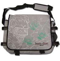 **Legit Bag** Attack on Titan Eren Team Colossal Titan Messenger Backpack #11713
