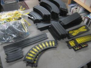 Tyco HO slot car track and parts lot