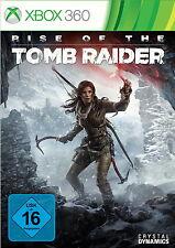Rise Of The Tomb Raider (Microsoft Xbox 360, 2015, DVD-Box)