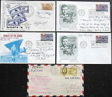 Aviation Pioneers Collection Signed Covers Wade, Harvey, Ogden, Corrigan, Engel
