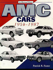 AMC CARS BOOK FOSTER HISTORY ILLUSTRATED