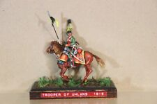 HISTOREX NAPOLEONIC PRUSSIAN MOUNTED LANCER TROOPER of UHLANS WATERLOO 1815 nv