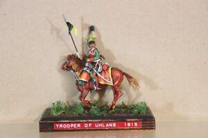 HISTOREX NAPOLEONIC PRUSSIAN MOUNTED LANCER TROOPER of UHLANS WATERLOO 1815 nv