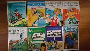 LOT 8 Bibliothèque Rose Titres divers