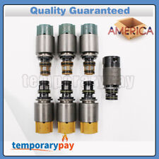 USA OEM 7x Transmission Solenoids 6HP19 6HP26 6HP32 For BMW X3 X5 Audi A6 A8 Q7