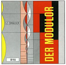 Fachbuch Le Corbusier, Der Modulor, Maßstab in Architektur und Technik, OVP, NEU