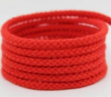 5mm Natural Cotton Rope 8 Strand Braided Long Twisted Cord Twine Sash Accessory Red 10m