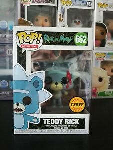 Teddy Rick Chase Funko Pop Rick And Morty 662