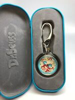 "Dr. Suess Tick Tocking Time Tickers ""The Fish"" clip-on Quartz Unisex watch"