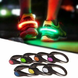 Shoe Clip Light Night Led Running Safety Warning Luminous Sports Flashing Clips