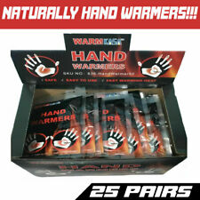 Hot Hand Warmers Pack 10 HRS Natural 100 Kasa 50 Pairs Safe and Fast Heating