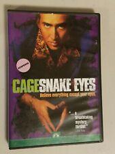 Snake Eyes (Dvd, 1999) Brian De Palma, Nicolas Cage, Gary Sinise, John Heard