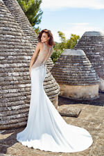 EDDY K  Wedding Gown Ines Ivory size 10
