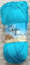 King Cole Giza Cotton 4 Ply 2208 Turquoise