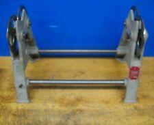 "Stuhr Grinding Wheel Balance Stand 22"" Swing Upto 15"" Wide In Wood Case *Xlnt*"
