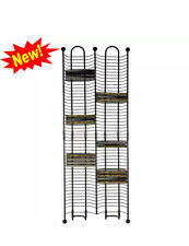 100-CD Tower Storage Media Rack Shelf Stand Organizer Multimedia Holder