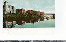 Government Building  Binghamton NY   Mailed 1906   The PCK Series Postcard 694
