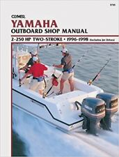 Clymer Manuals Yamaha 2-250 HP Two-Stroke Outboard & Jet Drives, 1996-1998 B785