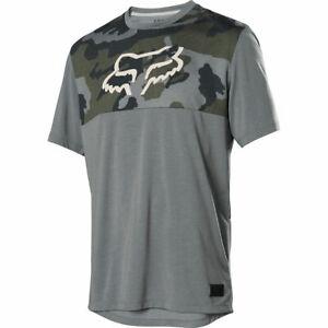 Fox Racing Ranger Dri-Release s/s Short Sleeve Jersey Green Camo