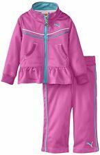 PUMA Baby Kinder Mädchen Jogginganzug Pink Jacke + Hose  Trainingsanzug Girls 80