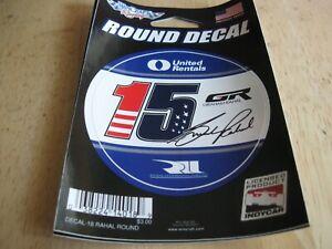 "2018 Graham Rahal Rahal/Letterman Racing #15 3"" Logo Decal"