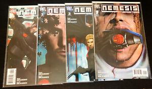 NEMESIS The Imposters (2010 DC Comics) -- #1 2 3 4 -- FULL Series / Set