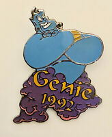 Vtg Disney GENIE OF ALLADIN  #32 Of 101 Disney Movies Silver Clasp Pin