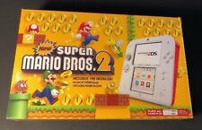 Nintendo 2DS Console [ Scarlet RED New Super Mario Bros 2 Limited Edition ] NEW