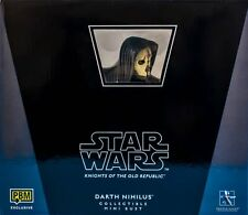 GENTLE GIANT Star Wars_DARTH NIHILUS Mini Bust_27/1800_Exclusive Limited Edition