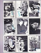1964 TOPPS BEATLES BLACK & WHITE SERIES 3 COMPLETE 50 CARD SET EX