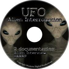 DVD 2 Video Set REAL Top Secret US Alien Interrogation UFO's Area 51 Documentary