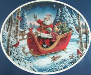 """Xstitch Kit DIMENSIONS The Gold Collection: Santa's Sleigh (15"""" x 12"""")-TN148"""